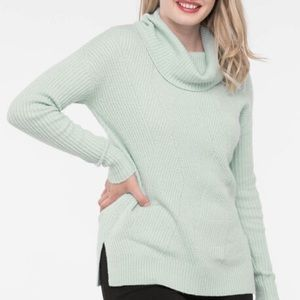 💗2/$30💗NWT ASYMMETRICAL RIBBED COWL NECK SWEATER